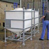 The MTC IBC frame lasts for years with liners replaced as necessary.