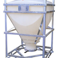 Long lasting dry goods IBC for containment and transportation.