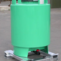 The cylindrical steel tank of the PCM 1000 has been tested to 3 Bar.