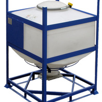 DGC 120 reusable IBC for transport and storage of dry goods.