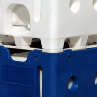 The APL IBC has a rotationally moulded seamless heavy duty plastic outer frame.