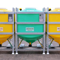 The MTC IBC is available in capacities of 600 - 1200 litres.
