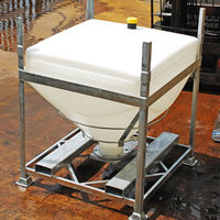 DGC 60 reusable silo IBC for dry goods e.g. powders and granules.