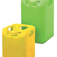 The Warlord reusable plastic drum for storage and transportation of dangerous liquids.