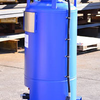 The PCM 250 is a metallic pressure discharge IBC for dangerous liquids.