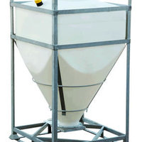 DGC 60 IBC is available in capacities from 500 - 2250 litres.