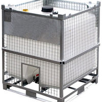 HGM heavy duty reusable IBC for dangerous liquids from Francis Ward.
