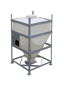 DGC 60 reusable IBC for dry goods.